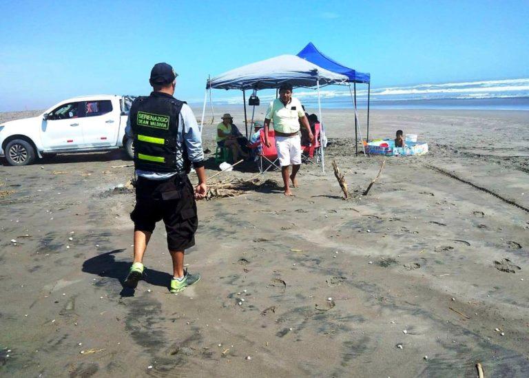 Sancionan a pobladores que ocupan playas en litoral de Deán Valdivia
