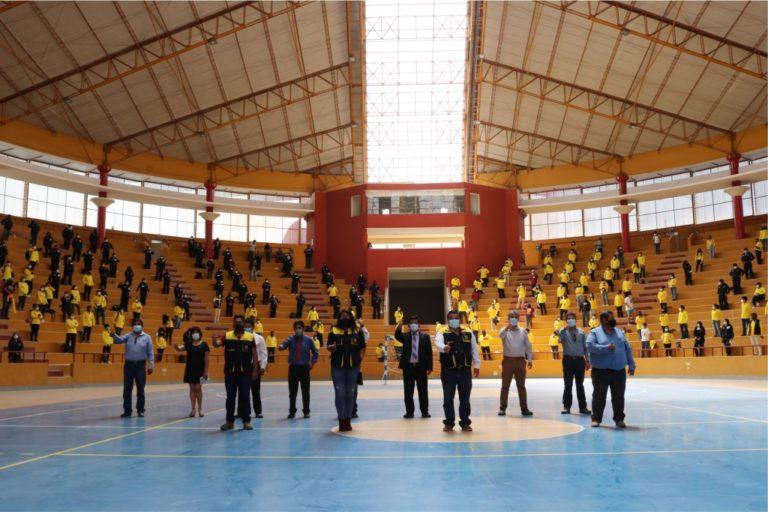 500 estudiantes de nivel superior inician labores administrativas en municipio de Moquegua