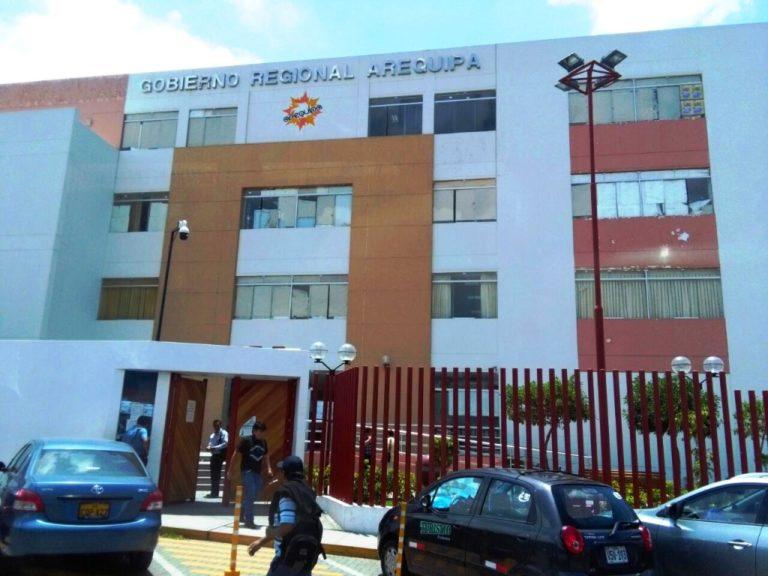 GORE Arequipa suspende atención presencial a usuarios de la sede de Paucarpata
