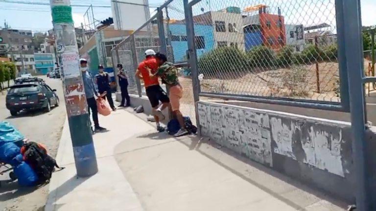 Venezolanos protagonizaron escándalos en la vía pública en Moquegua