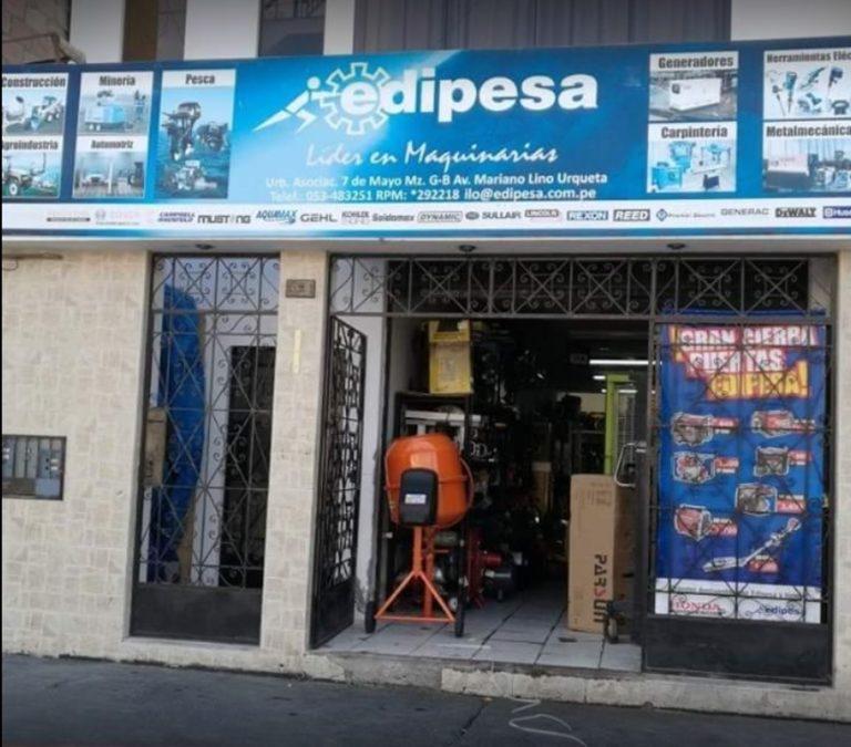 Sujetos armados asaltan tienda de venta de maquinarias