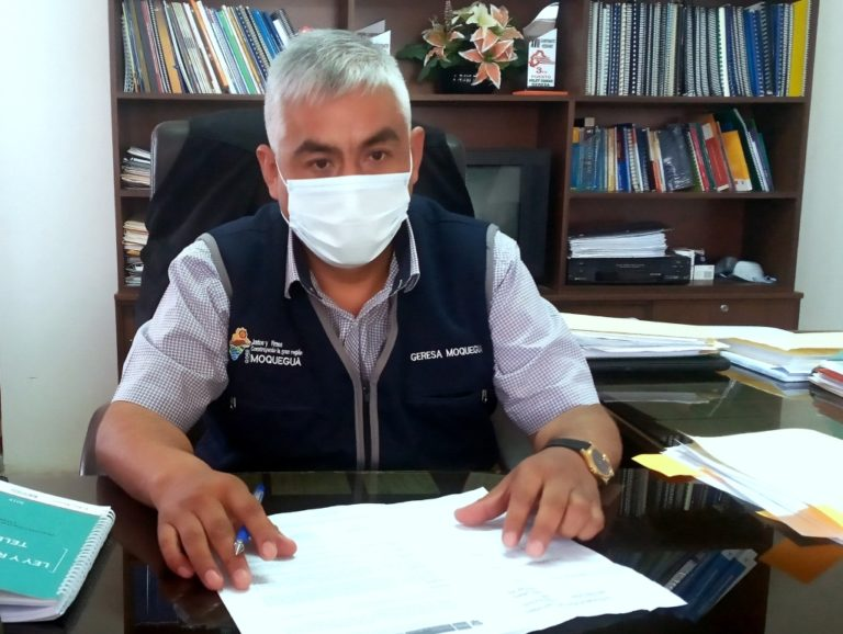 Dr. Atilio Machaca señala que no le va a temblar la mano para los cambios