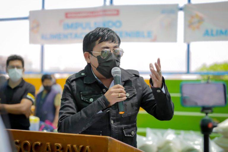 Adquisición de vacunas: Cáceres Llica reitera pedido de autorización a presidente Sagasti