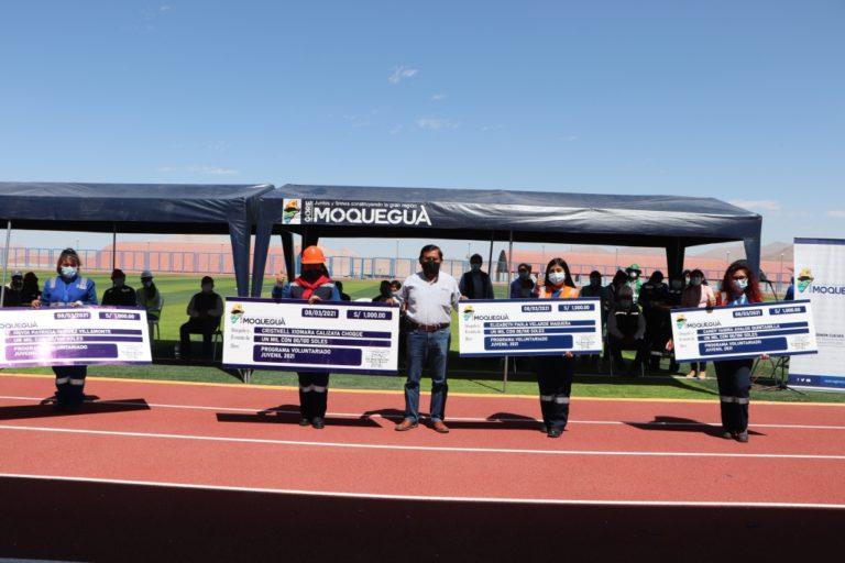 """Gobernador Regional clausura """"Programa Voluntariado Juvenil en Mariscal Nieto"""""""