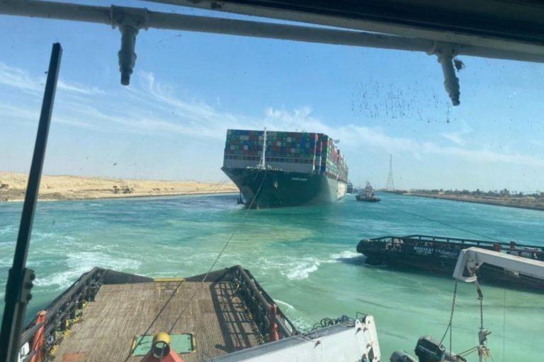 Desbloqueado el Canal de Suez tras ser reflotado el «Ever Given»