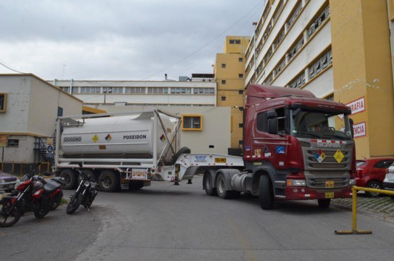 Southern continúa entrega de oxígeno medicinal a hospitales de Arequipa