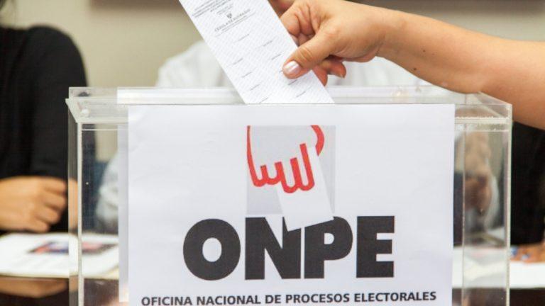 ONPE explica cómo será la votación este 11 de abril