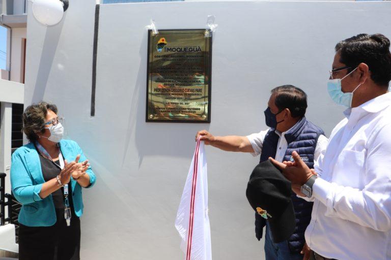 Gore Moquegua entrega dos colegios en la provincia de Ilo