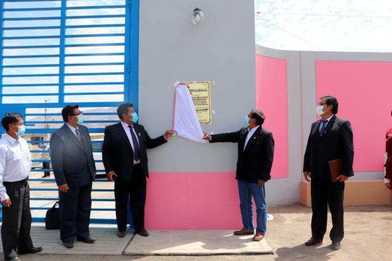 Gobernador regional inicia el Buen Año Escolar entregando nueva infraestructura educativa y laptops