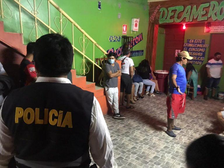 """Policía nacional interviene a 27 personas en local nocturno """"De Kameron"""""""