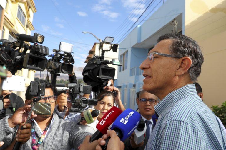 Sobornos en Moquegua: audiencia de prisión preventiva contra Martín Vizcarra continúa hoy