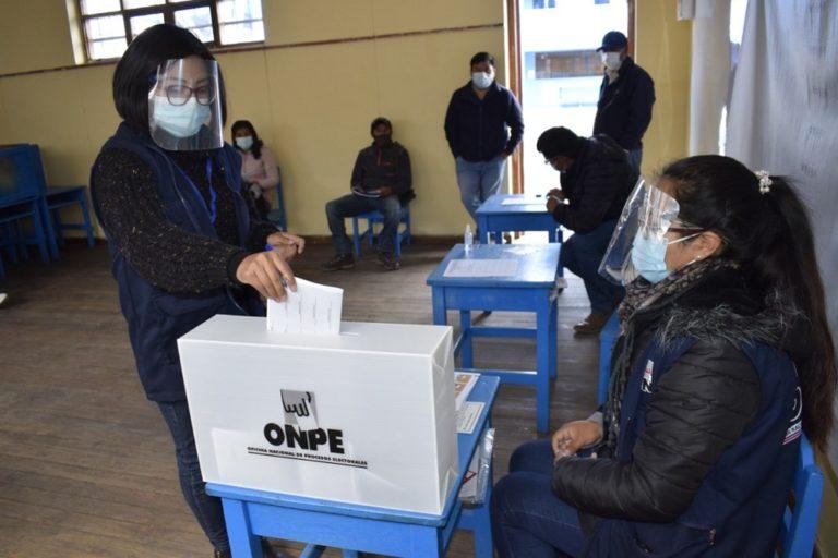 ONPE amplía plazo para que miembros de mesa se registren y cobren 120 soles