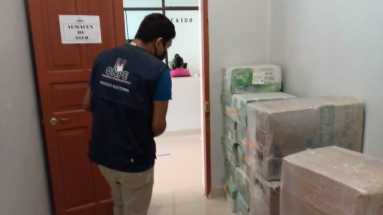 ODPE Mariscal Nieto: ONPE desplegó material de capacitación electoral
