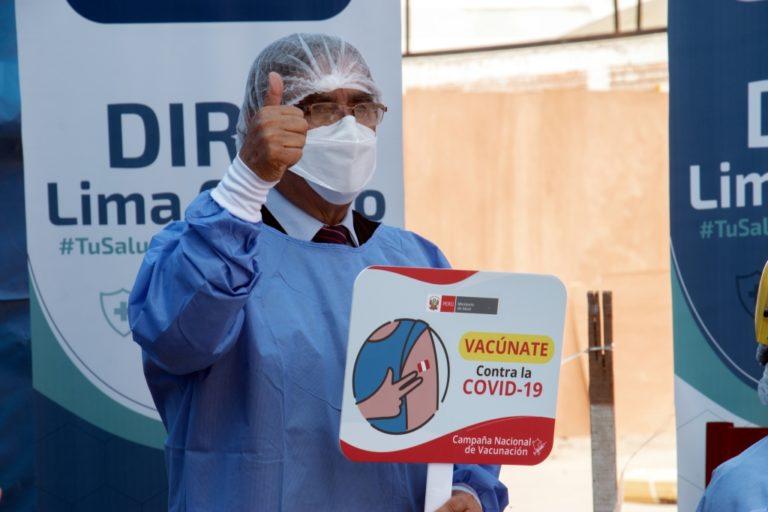 Minsa asegura que se ha iniciado una reducción de contagios y fallecidos en el Perú