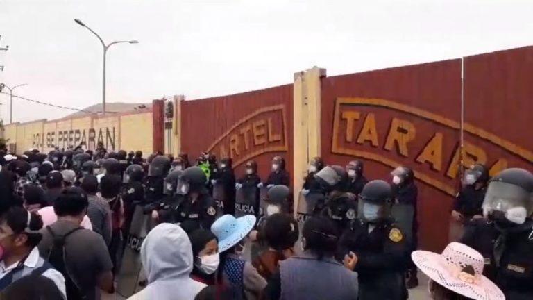 Ante el hostigamiento legal, más fuerza para luchar
