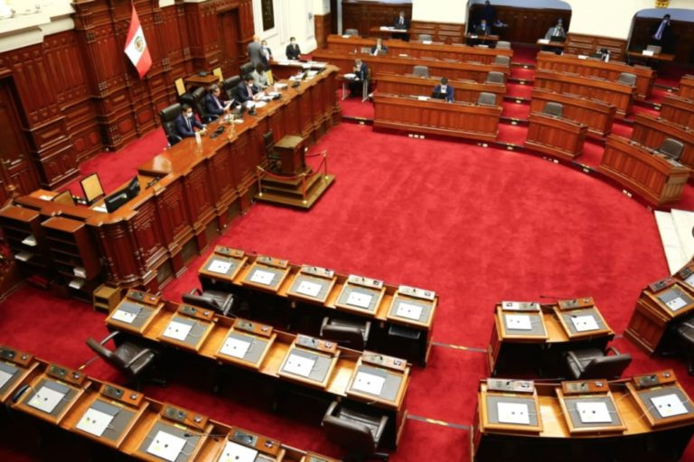 Congreso aprueba realizar una cuarta legislatura extraordinaria