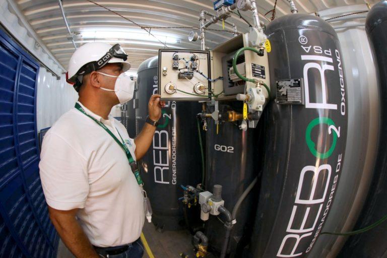 Southern Perú dona al Minsa primera planta móvil generadora de oxígeno gaseoso