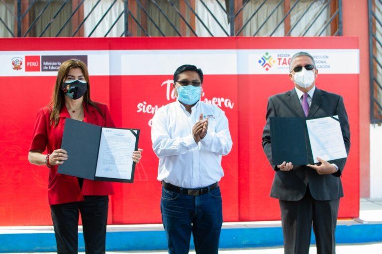 Southern Perú entrega camionetas a la DRE Tacna para fortalecer la gestión educativa