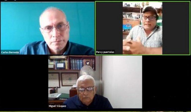 Webinar de La Punta digital: Analizan situación de organizaciones agrícolas