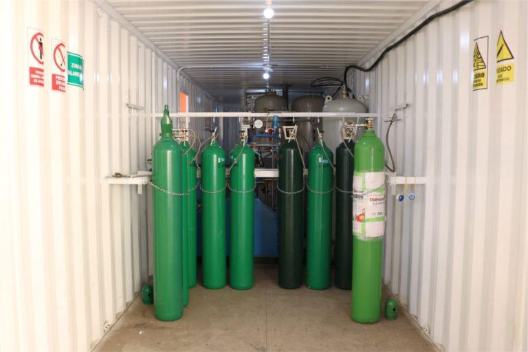 Planta de oxígeno continúa garantizando dotación gratuita