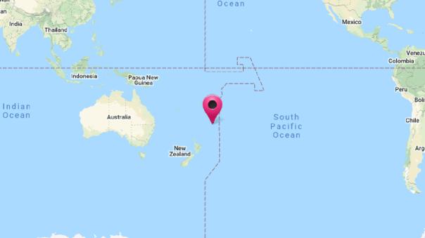 Marina de Guerra activó alerta de tsunami en nuestro litoral tras sismo de 8.1 en Nueva Zelanda