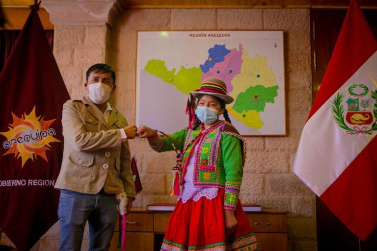 Estudiante en extrema pobreza ocupa primer puesto en el COAR Arequipa