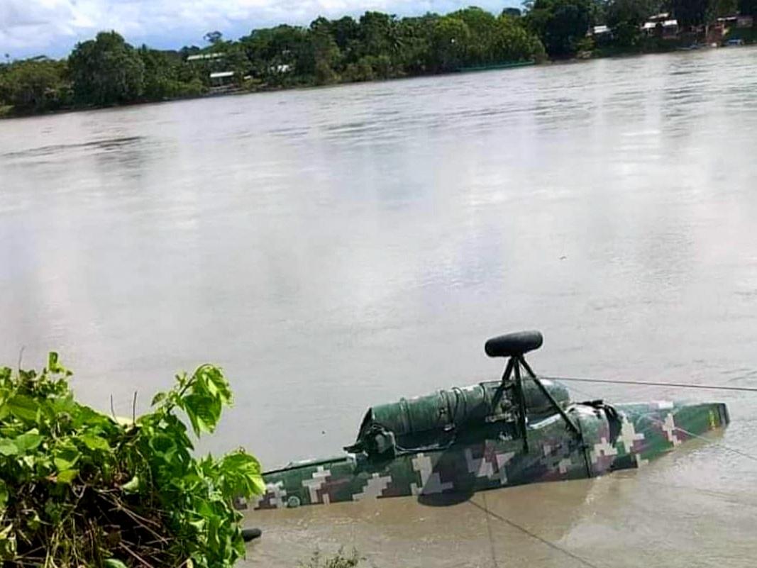 Al menos cinco miembros de las FF.AA. murieron tras caída de helicóptero al río  Vilcanota   La Prensa Regional
