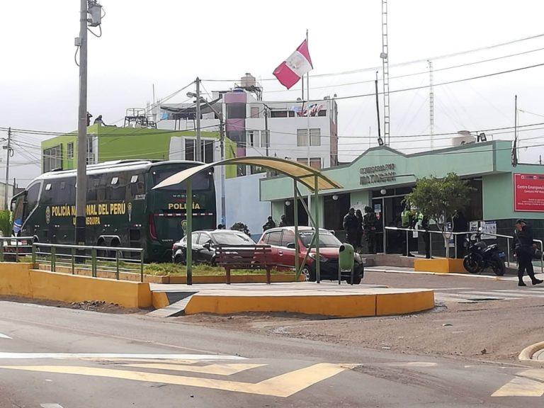 Caso CBB: Llegó contingente policial ante anuncio de paralización en Islay-Matarani
