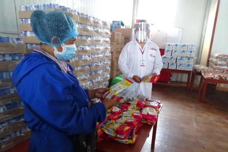 Qali Warma distribuye 64 toneladas de alimentos