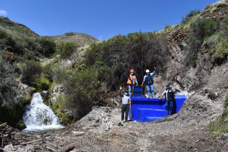 Comunidad de Ataspaya contará con mayor dotación de agua para consumo