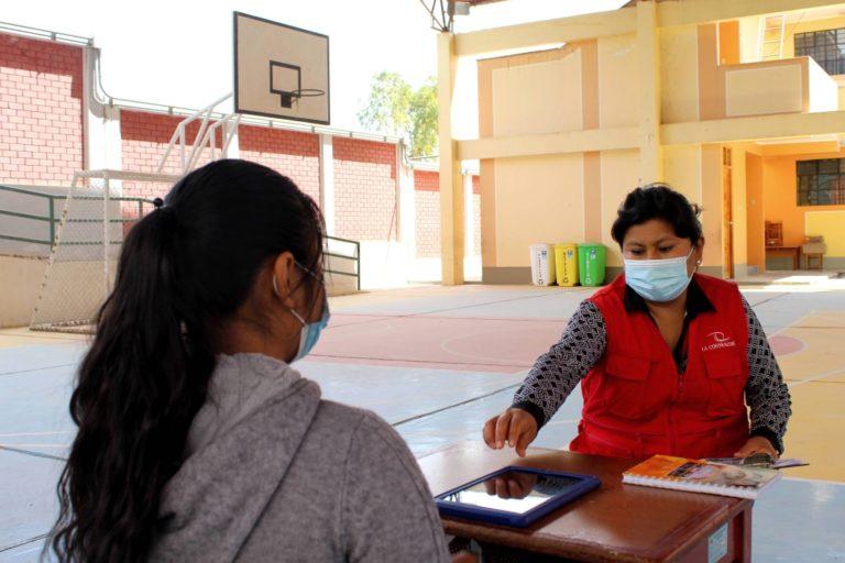 Contraloría verifica en la región Moquegua entrega de tablets a escolares y docentes