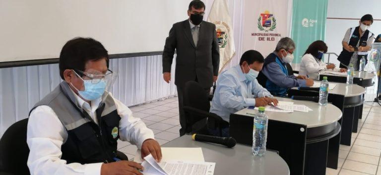 Suscriben convenio para elaborar estudios de preinversión para mejorar abastecimiento de agua