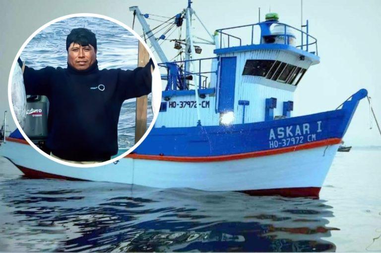 """Embarcación pesquera """"Askar I"""" desaparece con 8 tripulantes entre ellos 3 Ileños"""
