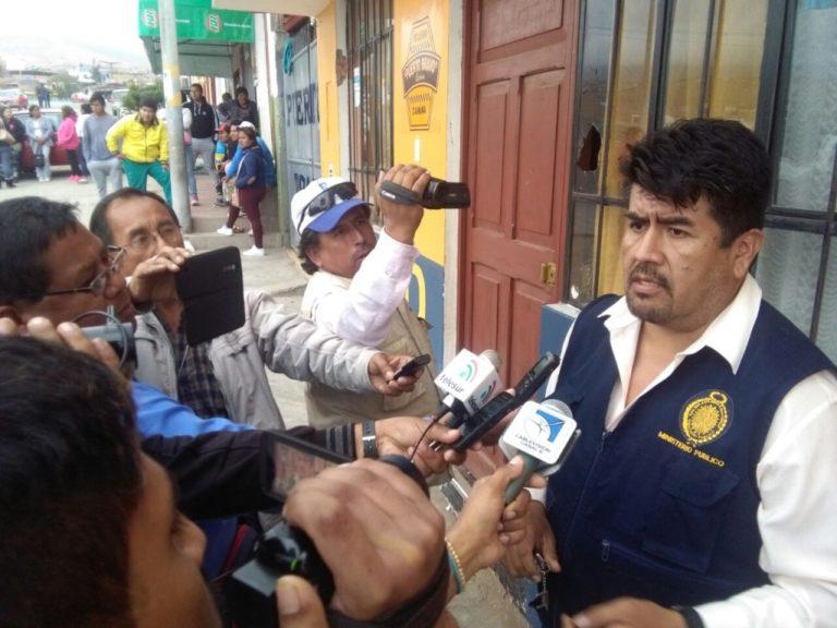 Oficializan destitución de fiscal de Islay César Salas Mendoza