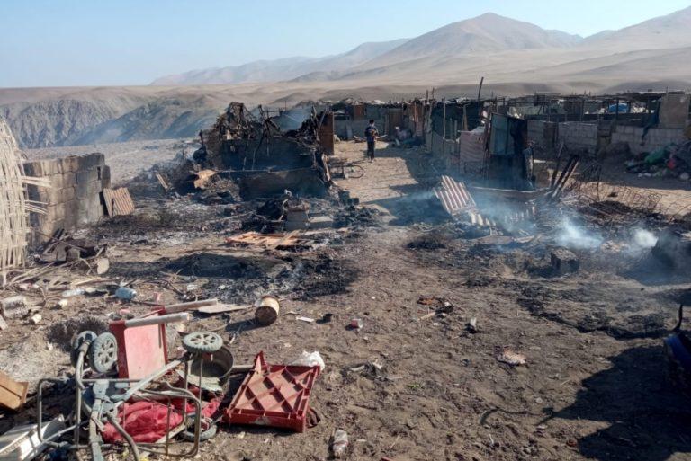 Un incendio quema parte de una granja de cerdos y varios mueren calcinados