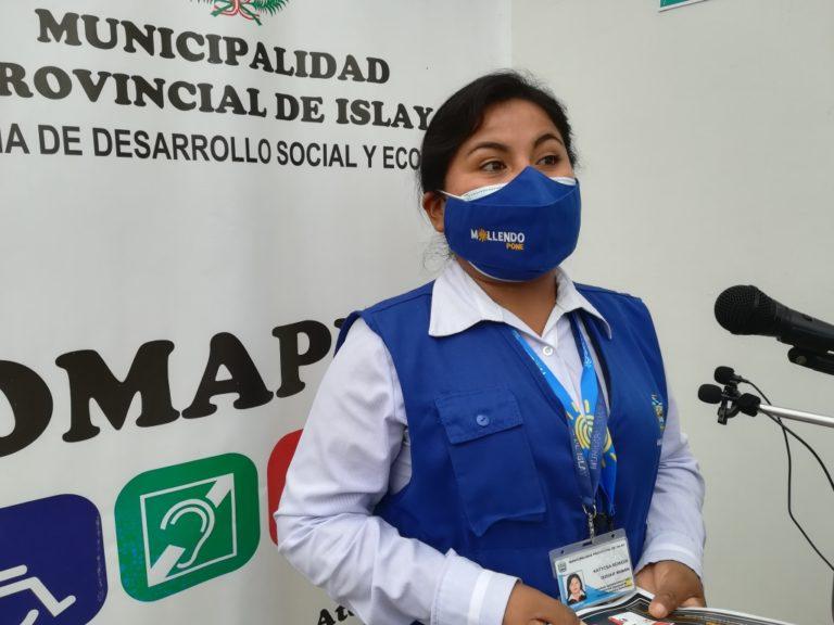Mollendo: Realizan quinta campaña de certificación a personas con discapacidad