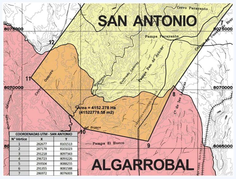 Municipio de Ilo emplaza al GORE Moquegua autorizar visita de campo al área de conflicto