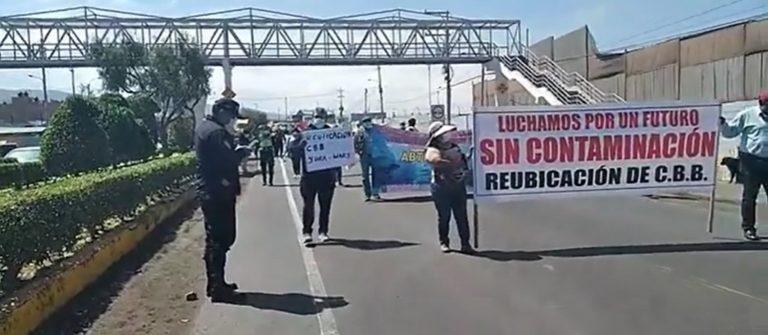 Islay-Matarani: Acatarán paro de 48 horas contra empresa CBB