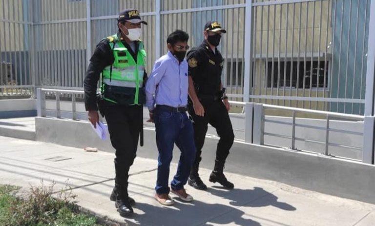 En locales de votación: Policía de Mollendo intervino a 16 personas con RQ