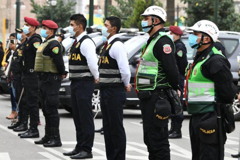 Policía despliega 96 mil agentes para el resguardo de la jornada electoral