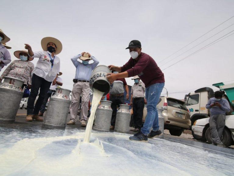 Buscan superar crisis lechera en la región Arequipa