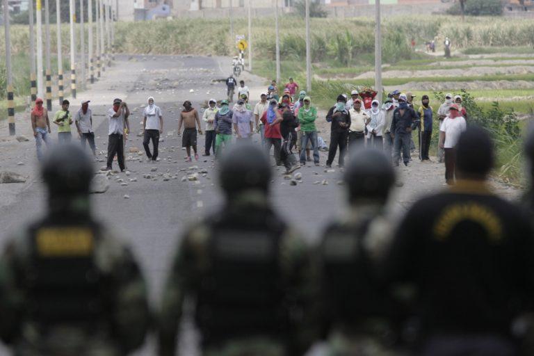 Enjuician a policía por muerte de obrero durante protestas contra Tía María en el 2015