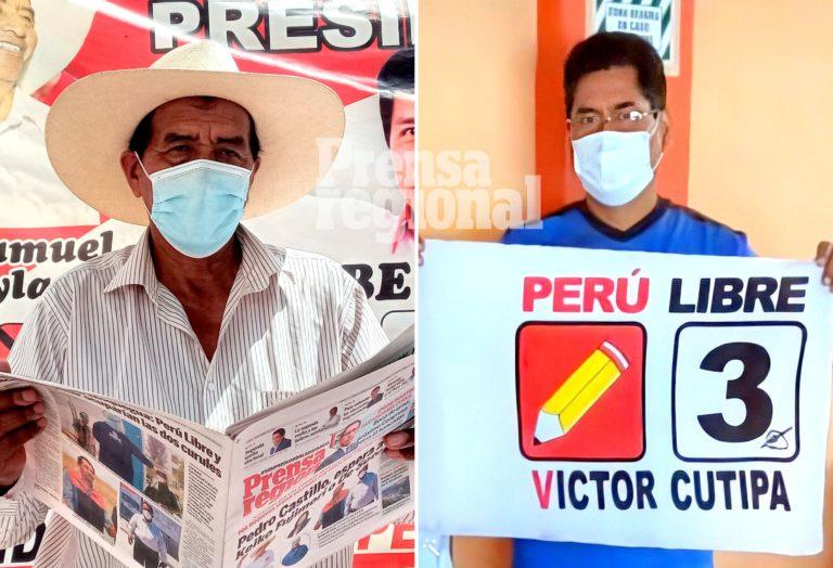 Perú Libre en Moquegua: Samuel Coayla y Víctor Cutipa son electos congresistas
