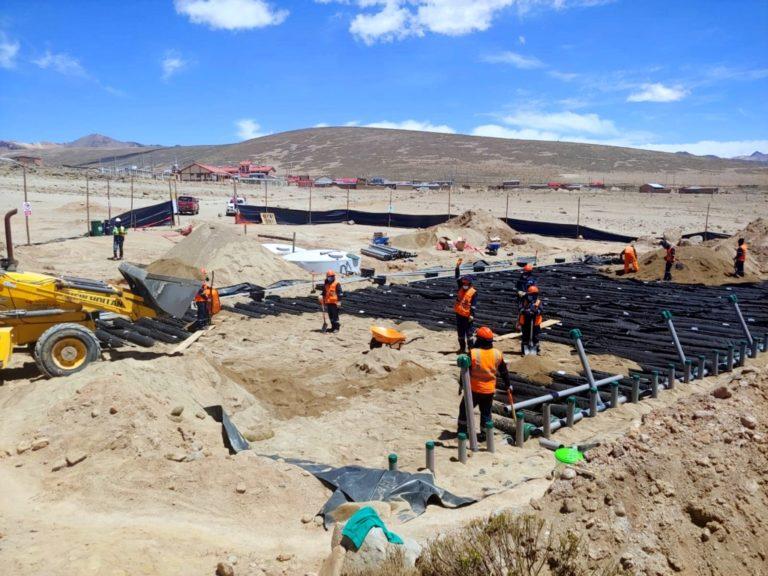 Southern Perú y centro poblado Huaytire unen esfuerzos para construir planta de tratamiento de aguas residuales