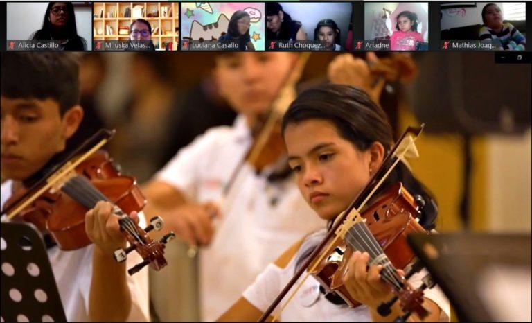 Southern Perú y Sinfonía por el Perú inician actividades de Núcleo Ilo en el marco de programa educativo