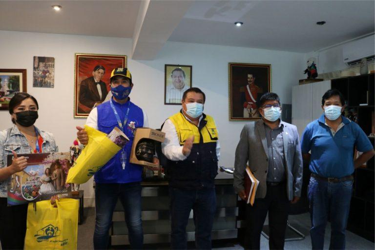 Alcalde de Islay destacó obras monumentales que ejecuta su colega de Moquegua