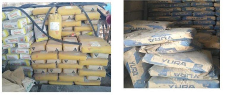 Comité de Vigilancia encuentra 2,244 bolsas de cemento vencidas en Parque del Niño y la Familia