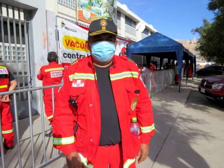 Moquegua: 49 aspirantes a bombero realizan prueba final para unirse a compañías
