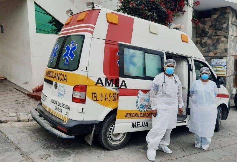 Municipio de Mejía y Red de Salud Islay realizan cerco epidemiológico