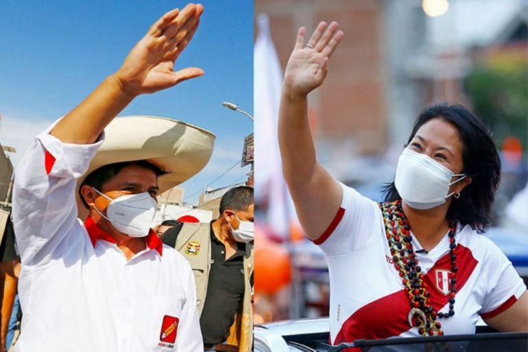 Flash electoral – Conteo rápido: Pedro Castillo 50.2% y Keiko Fujimori 49.8%